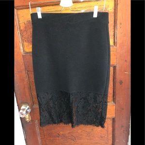 🎉HP🎉 Forever 21 Black Pencil Skirt